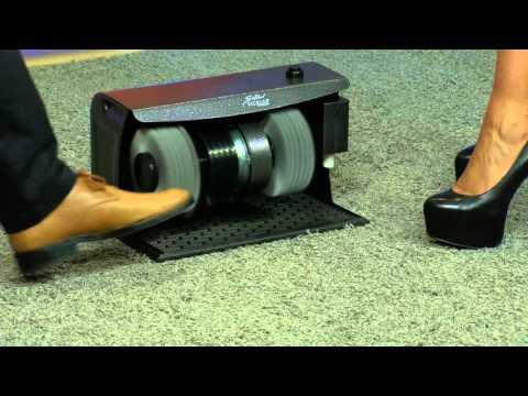 Sichler Schuhputz-Maschine Comfort Pro mit Schuhcreme-Spender