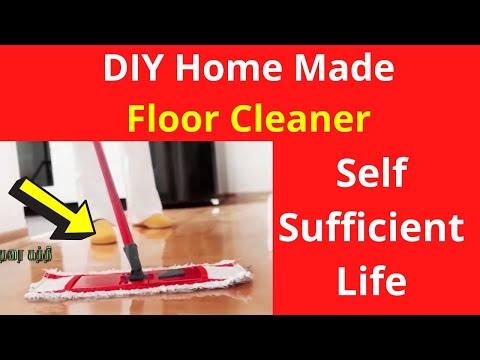 DIY Home Made - Nature Floor Cleaner | Self Sufficient Life