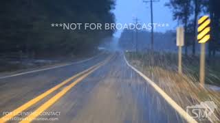 11-14-2018 Pine Bluff, Arkansas - Snow and Accidents