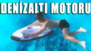DENİZİN ALTINDA MOTOR KULLANMAK!! (EFSANE ALET)