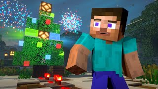 REDSTONE CHRISTMAS - Alex and Steve Life (Minecraft Animation)