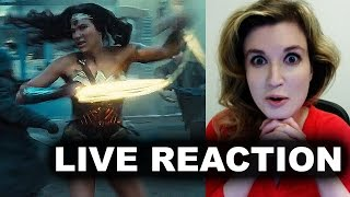 Wonder Woman Trailer Reaction