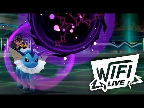 Pokemon Let's Go Pikachu & Eevee Wi-Fi Battle: Vaporeon Is Back! (1080p)