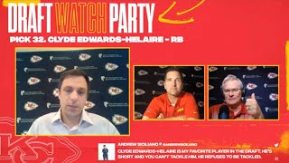 NFL Draft Day 1 Recap | Chiefs Watch Party