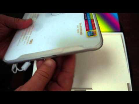 """iFive X2 Fnf 8.9"""" IPS Retina Rk3188 Tablet PC unboxing"""