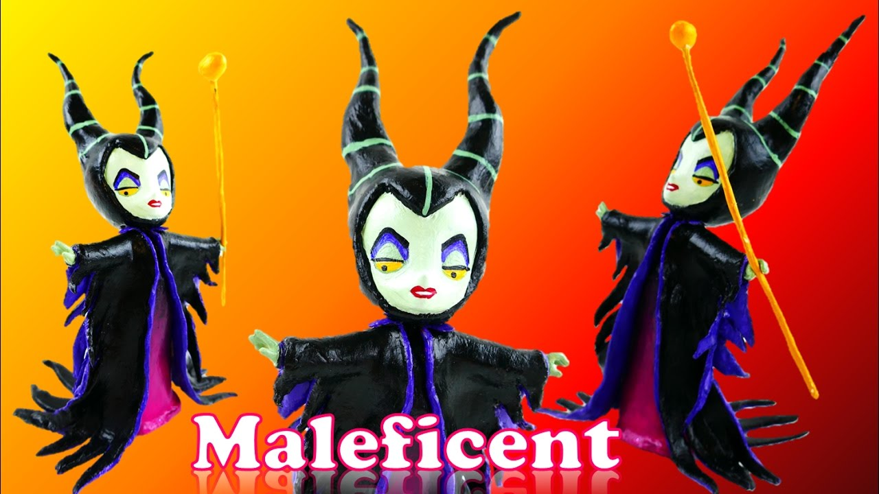 MALEFICENT Disney Villain Doll Custom - My Little Pony Equestria Girls Mini Toy