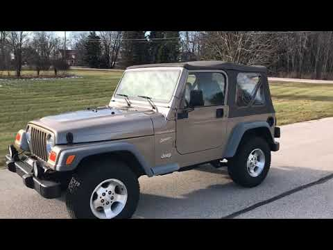 2002 Jeep® Wrangler Sport in Big Bend, Wisconsin - Video 1