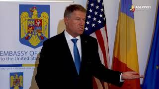 Iohannis: A fost semnat un memorandum de înţelegere cu SUA privind tehnologia 5G