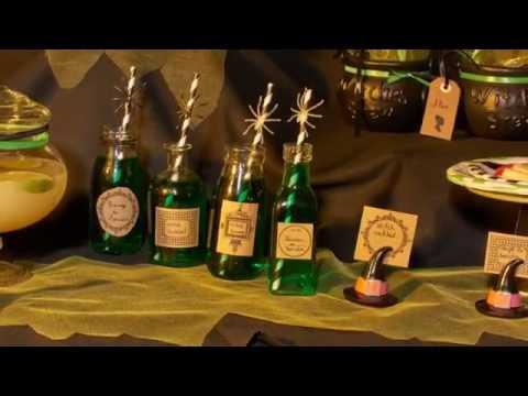 Recette de cocktail d'Halloween vert