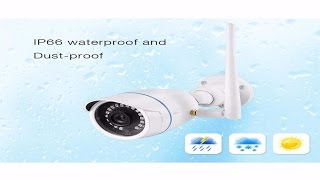 Indoor/Outdoor HD 720P WiFi IP Camera Setup Guide/Footage/Review (Boddenly)