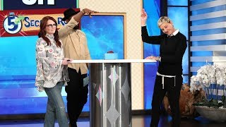 Megan Mullally Plays '5 Second Rule'