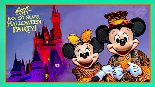 Mickey's Not So Scary Halloween Party 2018 At Disney World | Magic Kingdom Vlog