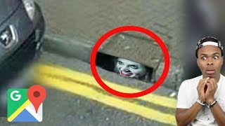 SCARY Things CAUGHT On GOOGLE Maps