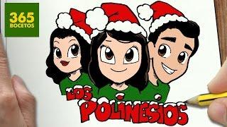 Como Dibujar Los Polinesios Para Navidad 123vid