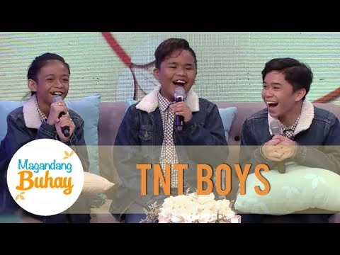 TNT Boys talk about their iWant documentary | Magandang Buhay