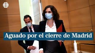 Aguado pedirá mañana a Ayuso el cierre de Madrid