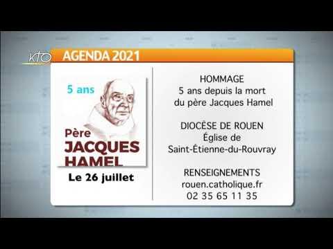 Agenda du 16 juillet 2021