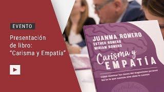 05-04-2018 Presentación de libro: Carisma y empatía, con Juanma Romero