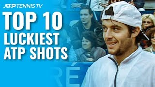 Top 10 Luckiest ATP Tennis Shots