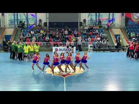Группа поддержки ГК ЦСКА Lucky Demons Cheerleaders Танец Policeman