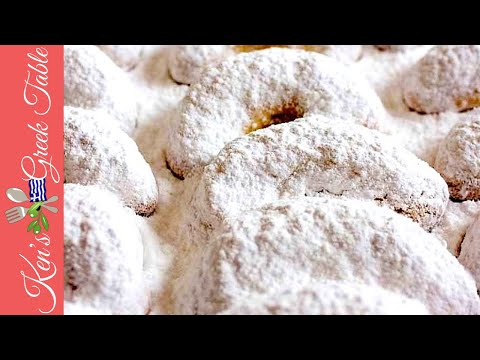 How To Make Kourabiedes | Traditional Greek Butter Cookies