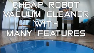Cheap robot vacuum cleaner with many features - Proscenic 811GB | Review