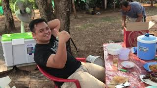 preview picture of video 'Thailand life Vlog: Songkran Anne visit Angun Parents'