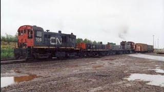 CN's Hump & Yard Booster Units (slugs) And Locomotives