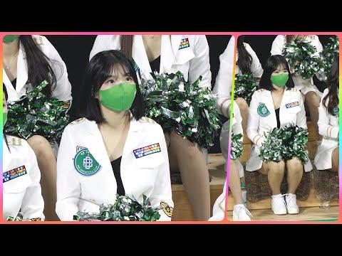 [4K] 치어리더 최석화 직캠 (cheerleader) - 1/2쿼터 응원 모음 @남자농구(원주DB)/210…