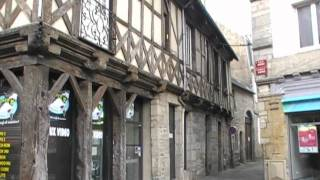 preview picture of video 'Pontivy,  Morbihan, Brittany, France 29th April 2011'
