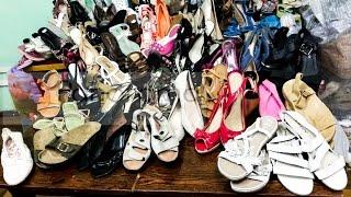 Обувь микс оптом секонд хенд крем  / Second hand wholesale clothing