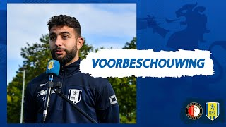 👀 Achraf El Bouchataoui blikt vooruit op Feyenoord - RKC Waalwijk