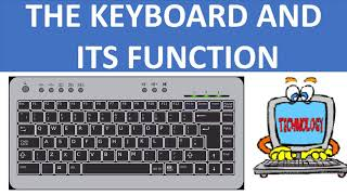 KEYBOARD AND ITS FUNCTION || FUNCTIONS OF THE KEYBOARD || BASIC COMPUTER || COMPUTER FUNDAMENTALS