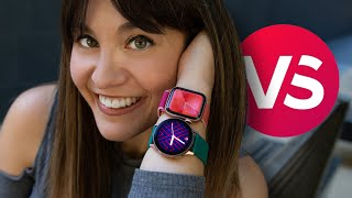 Apple Watch 5 vs. Galaxy Watch Active 2