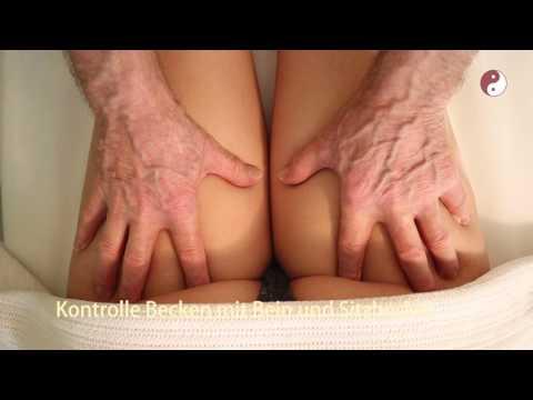 Durchführen Prostata-Massage
