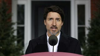 LIVE: Canada Prime Minister Justin Trudeau delivers daily update on coronavirus