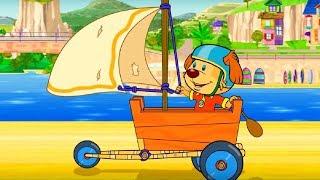 Пип и Альба - Приключения в соленой бухте –Кораблестроители - Обучающий мультфильм – серия 44