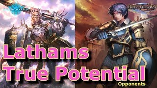 "[Shadowverse] Swordcraft ""This is Lathams true potentials?"""