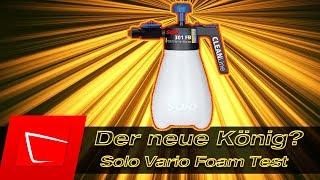 Neuer König? Solo Vario Foam Schaumsprüher - Snow Foam Alta Foam 2000 Gloria FM10 Alternative