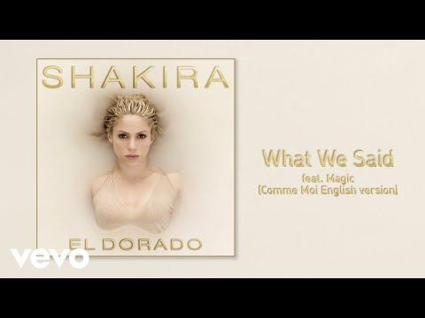 What We Said (Audio) - Shakira (Video)