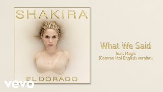 What We Said (Audio) - Shakira (Video)