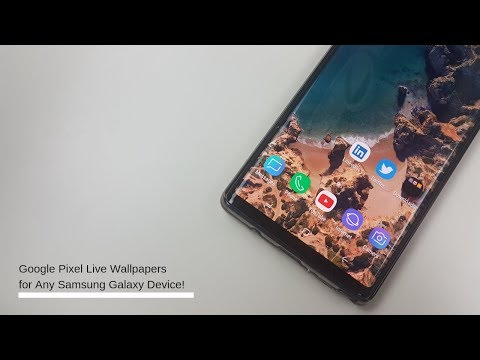 galaxy s9 live wallpaper - смотреть онлайн на Hah Life