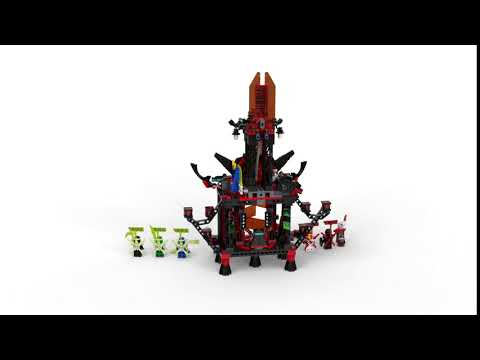 Конструктор Lari «Императорский храм Безумия» 11489 (Ninjago 71712) / 844 детали