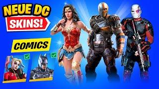 *NEUE* DC HELDEN SKINS KOMMEN! Wonder Woman & Spotify Premium Gratis in Fortnite Deutsch