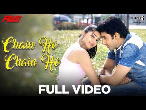 Chain Ho Chain Ho - Video Song | Run | Abhishek Bachchan & Bhumika Chawla | Alka Yagnik & Sonu Nigam