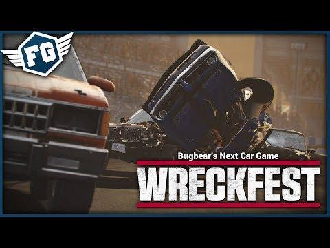 POŘÁDNÉ BOURACÍ DERBY - Wreckfest