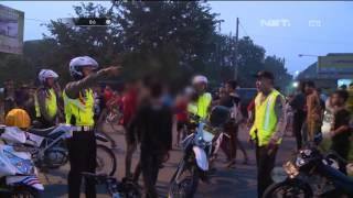 Pengendara Balap Liar Pontang-panting Digerebek Polisi - IPDA Fahmi -86