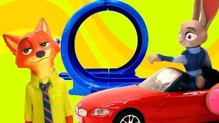 Видео для детей. ЗВЕРОПОЛИС. Игрушки из мультфильма. Экзамен Джуди Хопс