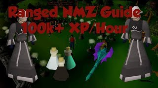 [OSRS] Ranged Nightmare Zone Guide | AFK 100k EXP/Hour