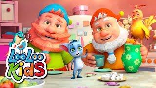 Five Little Friends - THE BEST Songs for Children | LooLoo Kids